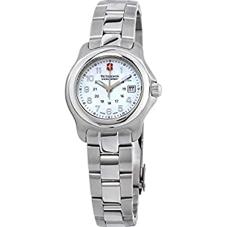 Victorinox Reloj de Mujer Cuarzo 29mm Correa y Caja de Acero 251035