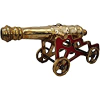 BRASS BLESSING Antiguo Estilo Cannon con Stand - Brass Heavy & Large - Mejor colección - Rare from (5001)