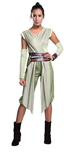 Rubie's 3810668 - Rey Deluxe Erwachsenen Kostüm, (Gute Kostüme Wars Star)
