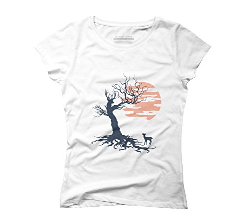 Family tree Women's Graphic T-Shirt - Design By Humans White