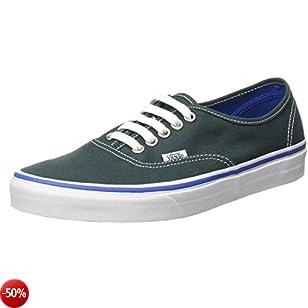 Vans Authentic, Sneaker Unisex - Adulto, Verde (Green Gables/True White), 40 Eu