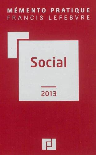 Memento social 2013