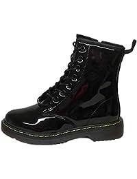 Botas es Complementos Zapatos Amazon Y Charol Mujer P5wWvq