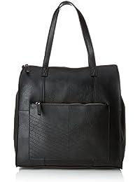 PIECES - 17092421, Shoppers y bolsos de hombro Mujer, Negro (Black), 13x37x36 cm (B x H T)