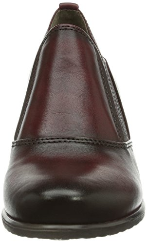 Tamaris 24313 Damen Halbschaft Stiefel Rot (Bordeaux 549)