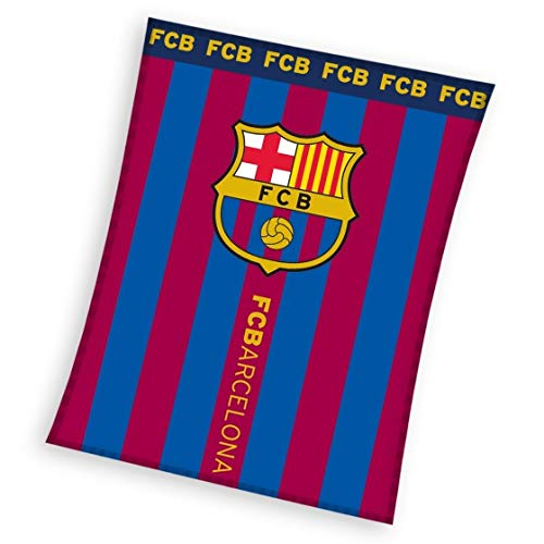 FCB FC Barcelona Manta Polar 110x 140cm