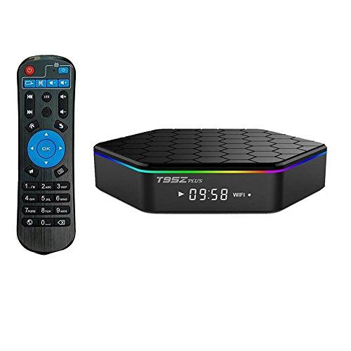 T95Z Plus YFisk Android TV BOX S912 Octa-core 2G / 16G Cortex-A53 Wifi 2.4 / 5G 1000m LAN Bluetooth 4.0 UHD 4K 3D Smart TV BOX