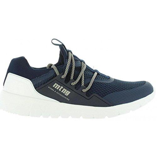 MTNG Attitude - Zapatillas para Hombre, Color Negro (Carbon Black), Talla 45