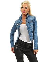 Moderne jeans jacke damen