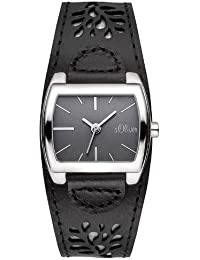 s.Oliver Damen-Armbanduhr Analog Quarz SO-2878-LQ