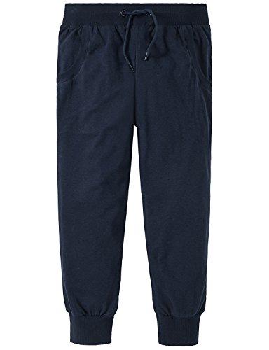 Schiesser Mädchen Schlafanzughose Mix & Relax Jerseypants 3/4, Blau (Nachtblau 804), 152 (Herstellergröße: S)