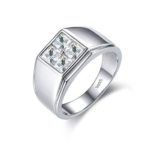 Sterlingsilber Sterling-Silber 925 Prinzess White zirkonia ()