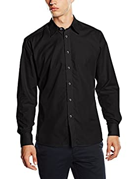 BlueBlack Herren Slim Fit Business Hemd Lucio, bügelfrei