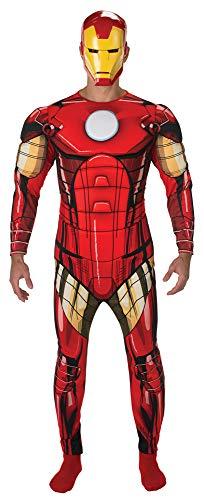 Iron Man Avengers Deluxe Kostüm für Herren - XL (56/58)