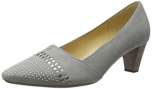 Gabor Shoes Damen Fashion Pumps, Grau (Stone/Silber 19), 40 EU