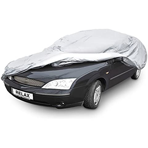 Relaxdays–10017921Auto Garaje extra resistente con forro interior, tamaño XXL, Gris