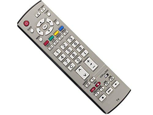 Viera Plasma-tv (Fernbedienung für PANASONIC VIERA TV LCD PLASMA EUR7651030A - Ersatz)