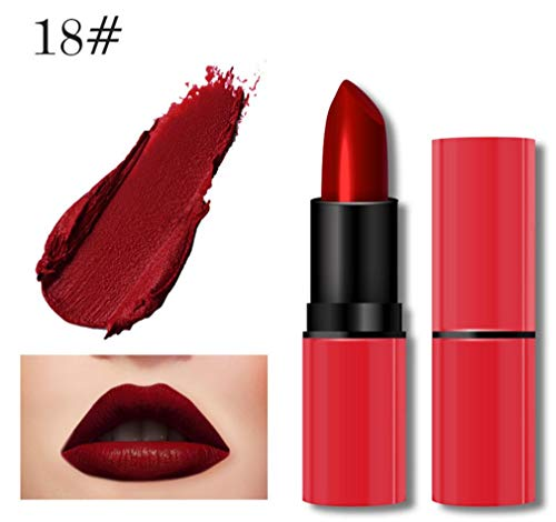 Jaminy Liquid Lip Gloss Lippenstift Matte Wasserdicht Langlebig Long Lasting Moisturizing...
