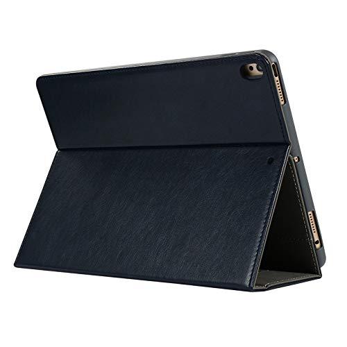 SlimShell Hülle für iPad Pro 10.5,Miya Slim dünne Cover Unterstützung Ständer Schutzhülle Tasche mit Pencil Halter,Auto Schlaf/Wach Funktion PU Ledertasche Smart case für iPad Pro 10.5-Dunkelblau