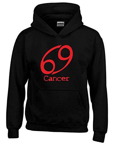 T-Shirtshock - Felpa hoodie bambino T0211 CANCER CANCRO religioni celtic,