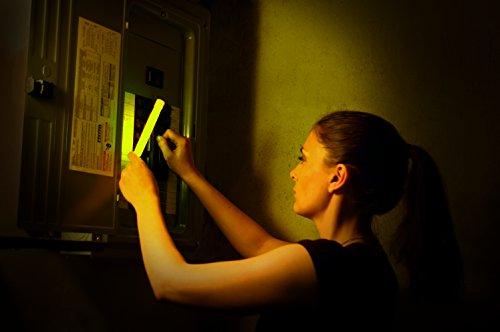 Imagen 5 de Cyalume CM-4MZB-7TBR - Barras de luz amarillo SnapLight Glow Sticks 15 cm, 6 Inch Lightstick super brillante con duración de 12 horas (Caja de 10)