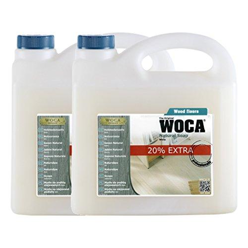 Preisvergleich Produktbild Woca Trip Trap Holzbodenseife weiß 6 Liter Aktion !!!!