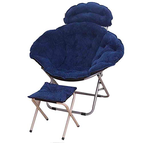 MJY Faltbarer Queen Moon Stuhl Lazy Chair Radar Chair Lunch Break Chair Liegestuhl Sun Chair jgh/A