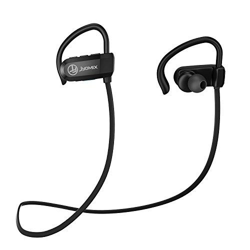 Auricolari bluetooth 4.1 jydmix in-ear cuffie sportive wireless stereo aptx cancellazione del rumore, auricolari impermeabili, microfono incorporato mano free, 7 ore di riproduzione, ultraleggere, attivazione siri