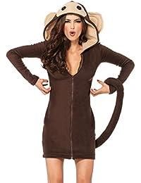 Leg Avenue Cozy Monkey Costume Jacket Brown Size L