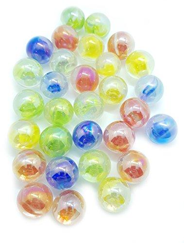 MaRécréation-30Bolas Candy de Cristal coleccionables, ql-6gkt-j2-c, 16mm