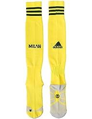 Adidas chaussettes de football/ausweich Milan AC Replica 1Paire, Homme, AC Mailand Replica Ausweichsocken, 1 Paar - gelb
