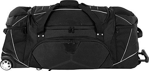 Dermata rollenreisetasche mit rucksackfunktion nylon noir 95 cm