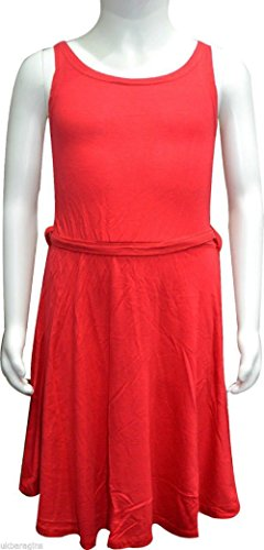 Comfiestyle - Robe - Sans Manche - Femme Rouge