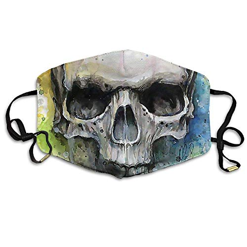 Reusable Mund Maske, Face Mask, Puerto Rico Skull Custom Mund Maske Anti-Dust Face Mask -