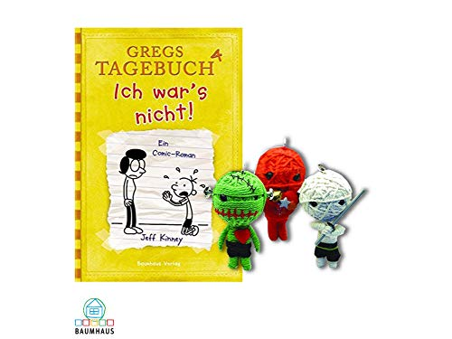Baumhaus Medien Gregs Tagebuch4 : Ich War's Nicht! (Gebundenes Buch) + 1. Coole Voodoo Puppe