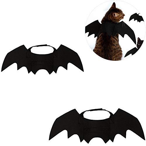 Pet Fledermausflügel Schwarz Niedlich Fancy Dress Up Halloween Hundekatze Kostüm - 2 - Niedliche Kostüm Dress Up