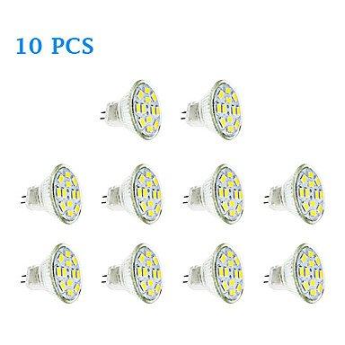 Hohe Qualität Leuchtmittel, MR11LED Spot 4W 12x 5730SMD 350LM 3000K/6000K Warm Weiß/Cool weißes Licht LED Spot Leuchtmittel (12V) 100Für Home & Küche warmweiß
