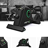 We R Sports Portable Mini Exercise Bike Sofa Cycle Resistance Cycle Desk Home Seat Gym Pedal - Green