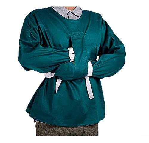 SHIJING Sicherheitskleidung Beschränkung Kleidung, bewerben mit unbewussten Bett Restagers - um Unruhe und Sturz zu verhindern,XL