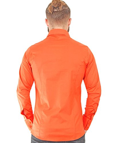 RED BRIDGE - Chemise casual - Homme Corail