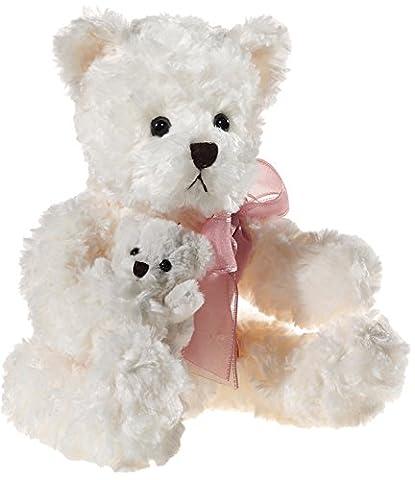 Heunec 503458 - Bär mit Baby, creme