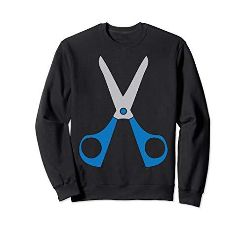Für Lehrer Kostüm Gruppe - Rock Paper Scissors Kostüm für Gruppe von 3 Sweatshirt
