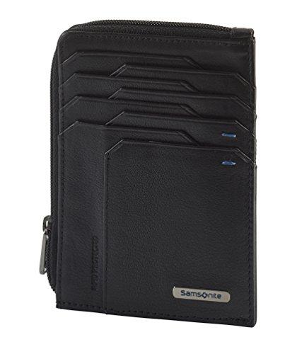 Spectrolite SLG - All-In-One Wallet with Zip Around Porta carte di credito, 13 cm, 0 liters, Nero (Black/Night Blue)