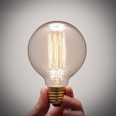HZZymj-reine Kupferlampensockel retro vintage e27 künstlerischen Glühlampe industrielle Glühbirne 40w , 110-120v -