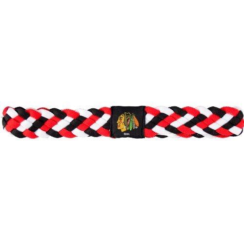 nhl-chicago-blackhawks-braided-headband-by-littlearth