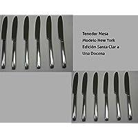 Cuchillo Mesa diseño New York Acero Inox 18/10 (1 docena)