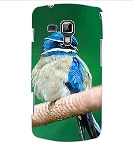 ColourCraft Cute Bird Design Back Case Cover for SAMSUNG GALAXY S DUOS S7562