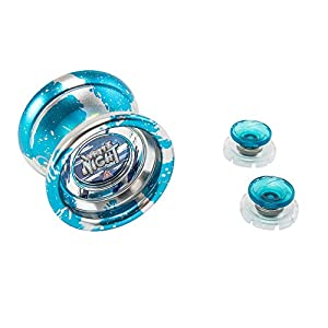 Auldey EU677263 - Blazzing Team Yoyo-Metal Votex Master Nivel 4 - White Night