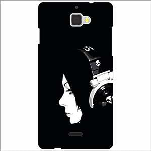 Coolpad Dazen 1 Back Cover - Black Designer Cases
