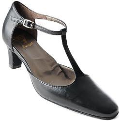 Rumpf Damen Tanzschuhe Leder Handmade Tanzen Schuhe Sneaker Standard Latin 38
